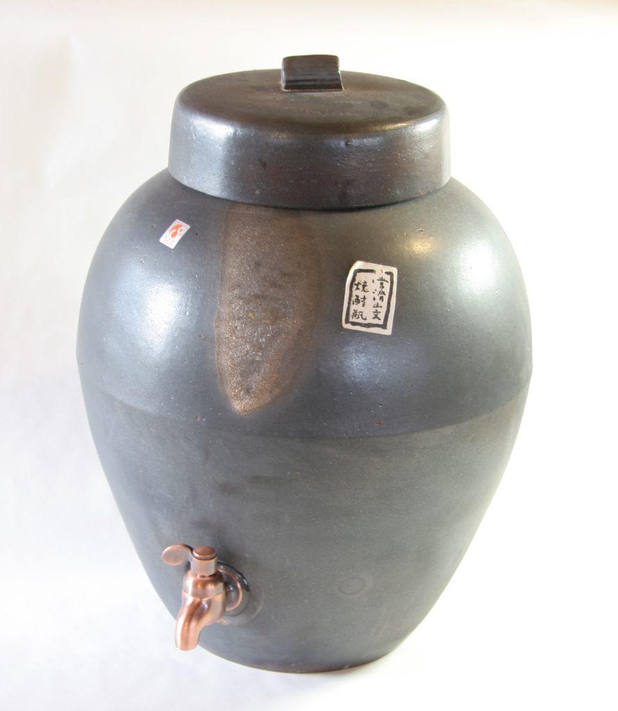 常滑焼(なめとこやき)の瓶